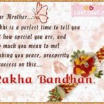 Rakhi Quotes For Brother In English Pinterest