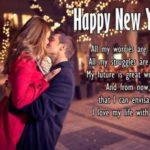 Romantic Happy New Year Message Pinterest