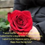 Rose Day For My Love Facebook