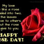 Rose Day Status Facebook