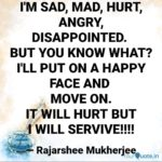 Sad Mad Quotes Facebook