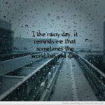 Short Raindrop Quotes Twitter
