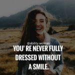 Smile Caption For Girls
