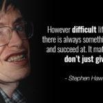 Stephen Hawking Best Quotes