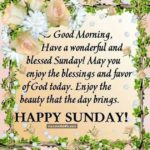 Sunday Blessings Good Morning Images