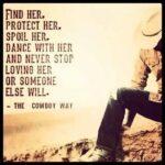 The Cowboy Way Steak Quote