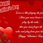 Valentine's Day Card Messages For Girlfriend Facebook