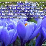 Wish A Friend Good Morning Message Twitter