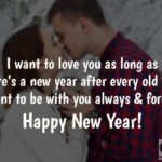 Wish Happy New Year For Girlfriend Facebook