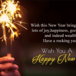 Wishing Someone A Happy New Year Facebook